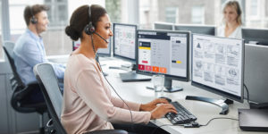 Call Centers are a prime example of how using appropriate technology can enhance quality of service, and choosing the right headset is at the epicenter of this equation. A poorly selected headset can make for an uncomfortable work environment which will negatively impact the way call center employees work. Think of it like using a rough metal chair you'd have to sit on for 8 hours per day, five days a week: at some point, getting out of that chair is all you'll be thinking about.
