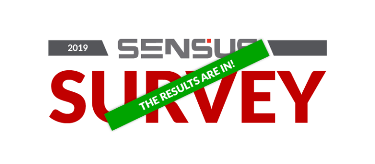 sensus survey results are in