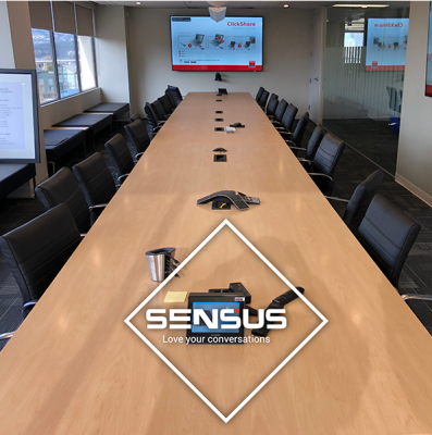 SENSUS Av Installation - Boardroom Sample