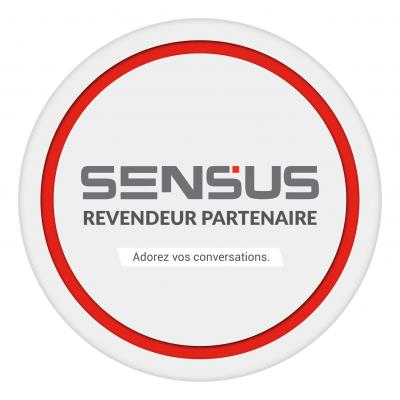 SENSUS Channel Partner Logo French